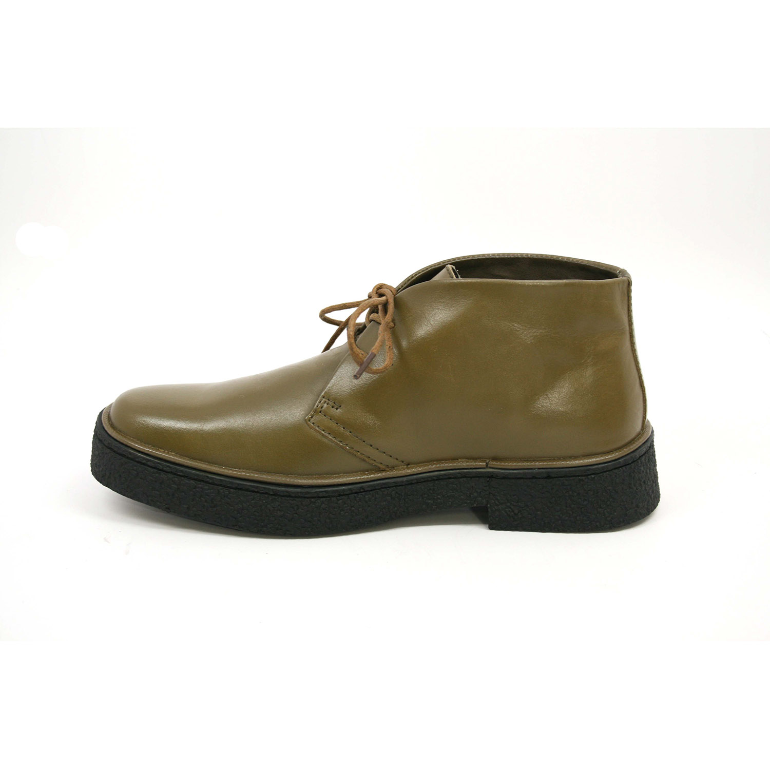 British Collection Men's Playboy Chukka Boot Olive Leather [1226 ...
