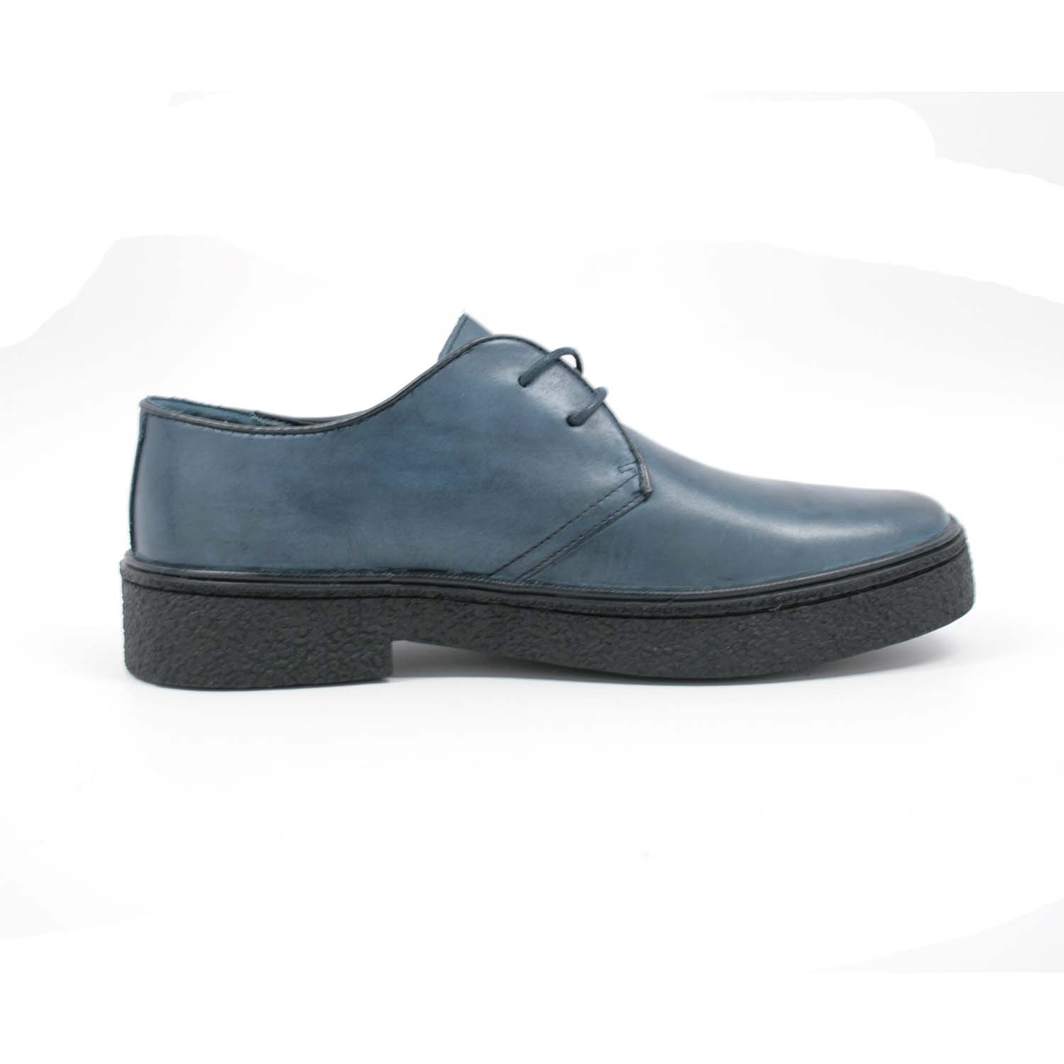 British Walkers Men S Playboy Low Cut Navy Leather 1852