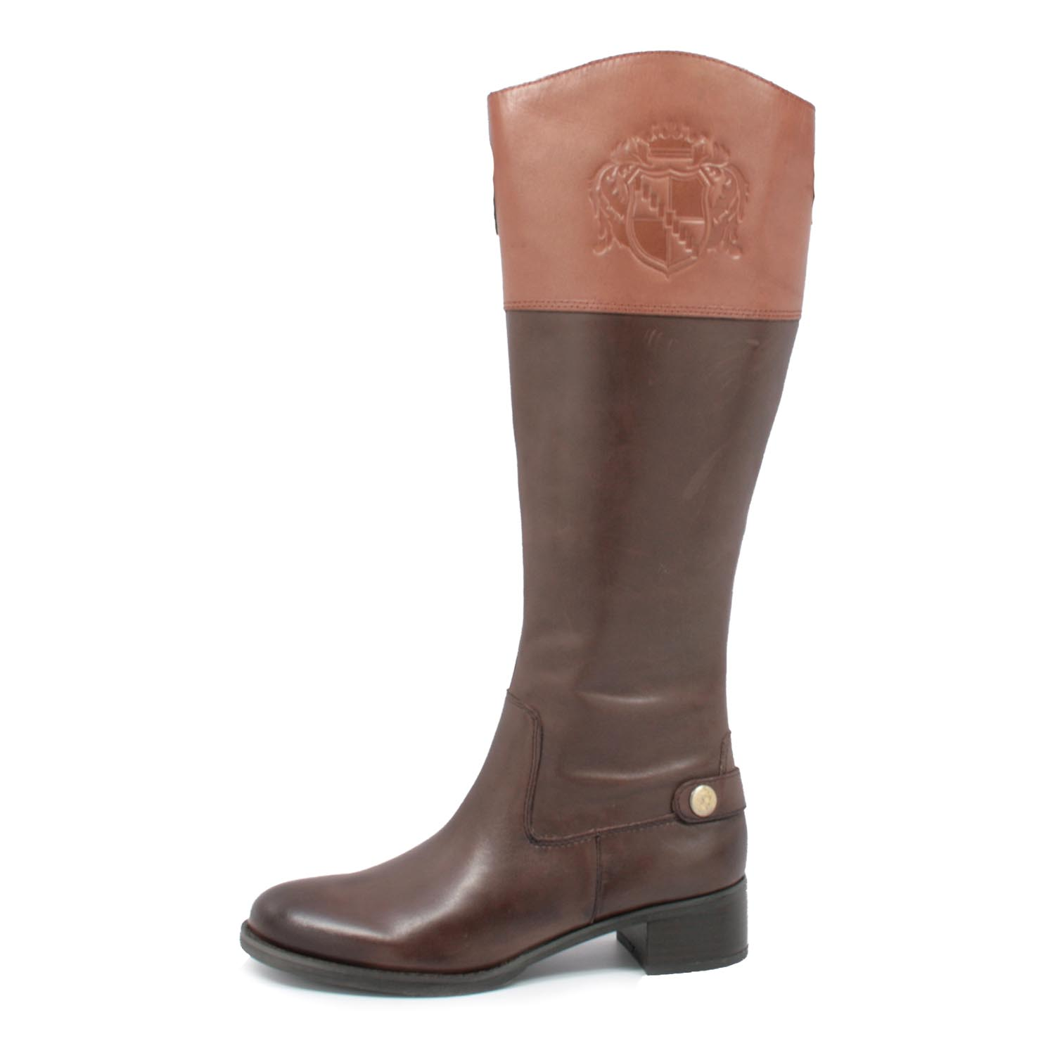Franco Sarto Women S Chip Riding Boots Brown Banana Bread