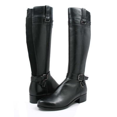 Amazing Me Too Womens Darcey Leather Riding Boot Shoe  EBay