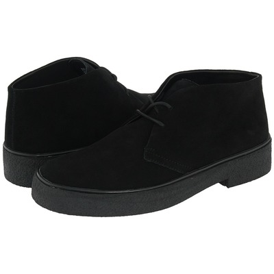 GBX NEW MEN'S BLACK SUEDE PLAYBOY CHUKKA BOOT 130801