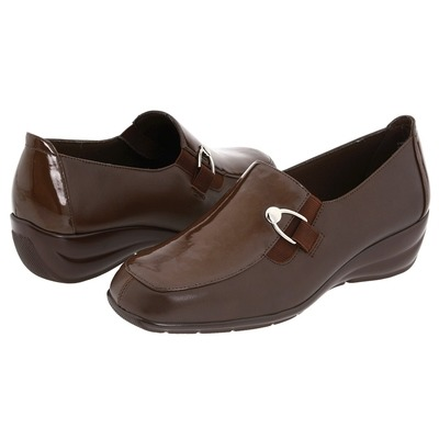 Walking Cradles Taffie Brown Leather Patent