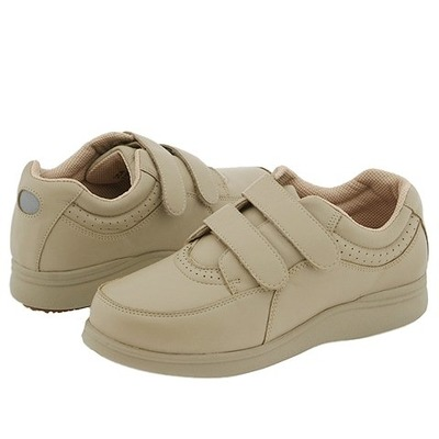 hush puppies power walker ii taupe leather walking shoes