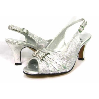 Floral DP743 womens silver Dress Shoes [DP743] - $59.99 : Wide ...