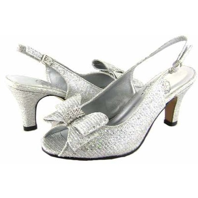 Floral DP721 Womens Silver Dress Shoes [dp721] - $55.99 : Wide ...