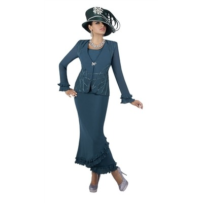 Tally Taylor 9193, 9193W 3pc Suit (Plus Sizes)