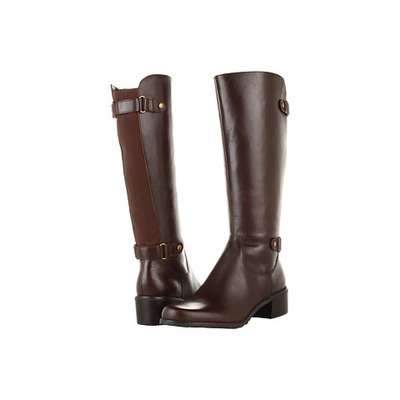 AK Anne Klein Evanthe Dark Brown Wide Calf