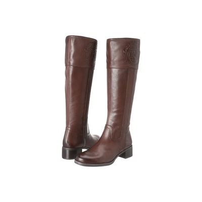 Franco Sarto Women's Christie Riding Boot Ox BrownLeather