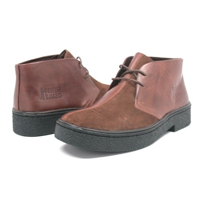 British Walkers Men's Playboy Chukka Boot Brown/Brown Split Toe