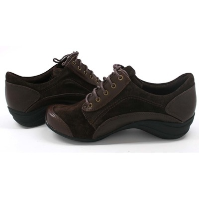 Hush Puppies Women's Kendra Alternative Oxford Dark Brown