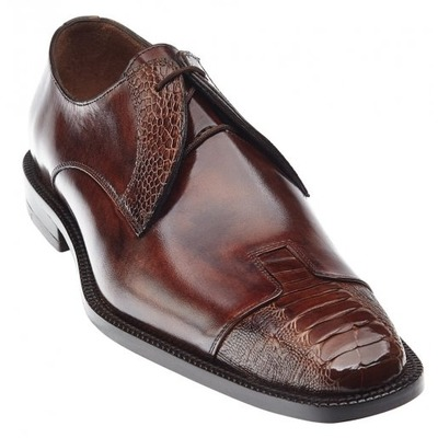 Belvedere Pisa Camel/Antique Almond Genuine Italian Shoes