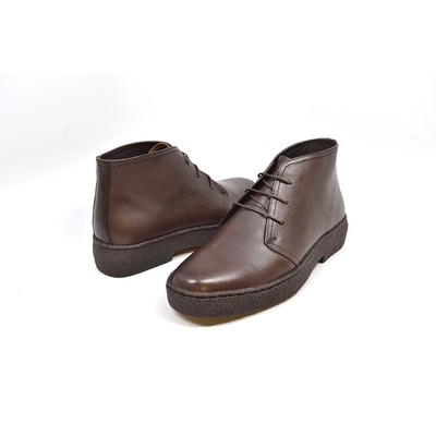 British Collection Playboy Original High Top Brown Leatherr