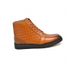 "British Collection ""Extreme""  Cognac Leather High Top"