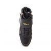 "British Collection ""Empire""  Black Leather High Top"