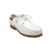British Collection Crown-White Leather and Suede