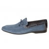 Mezlan Campin Nautical Inspired Rubber-Soled Blue Moc