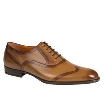 Mezlan Candela Double-Etched Wing Tip Oxford