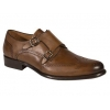 Mezlan Coruna Hand-Burnished Calfskin Tan Shoes