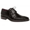 Mezlan Marini Genuine Alligator Black Shoes
