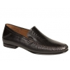 Mezlan Romero Exotic Dress Moc Slip On Black