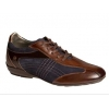 Mezlan Vega Sport/Dress Crossover Lace Up Brown