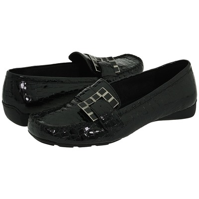 Bella Vita Soulmate Black Croc Leather