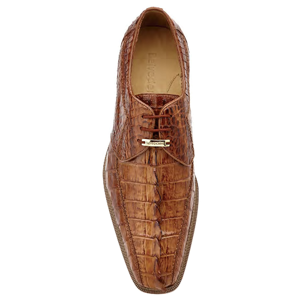 Belvedere Colombo Genuine Hornback-Brown