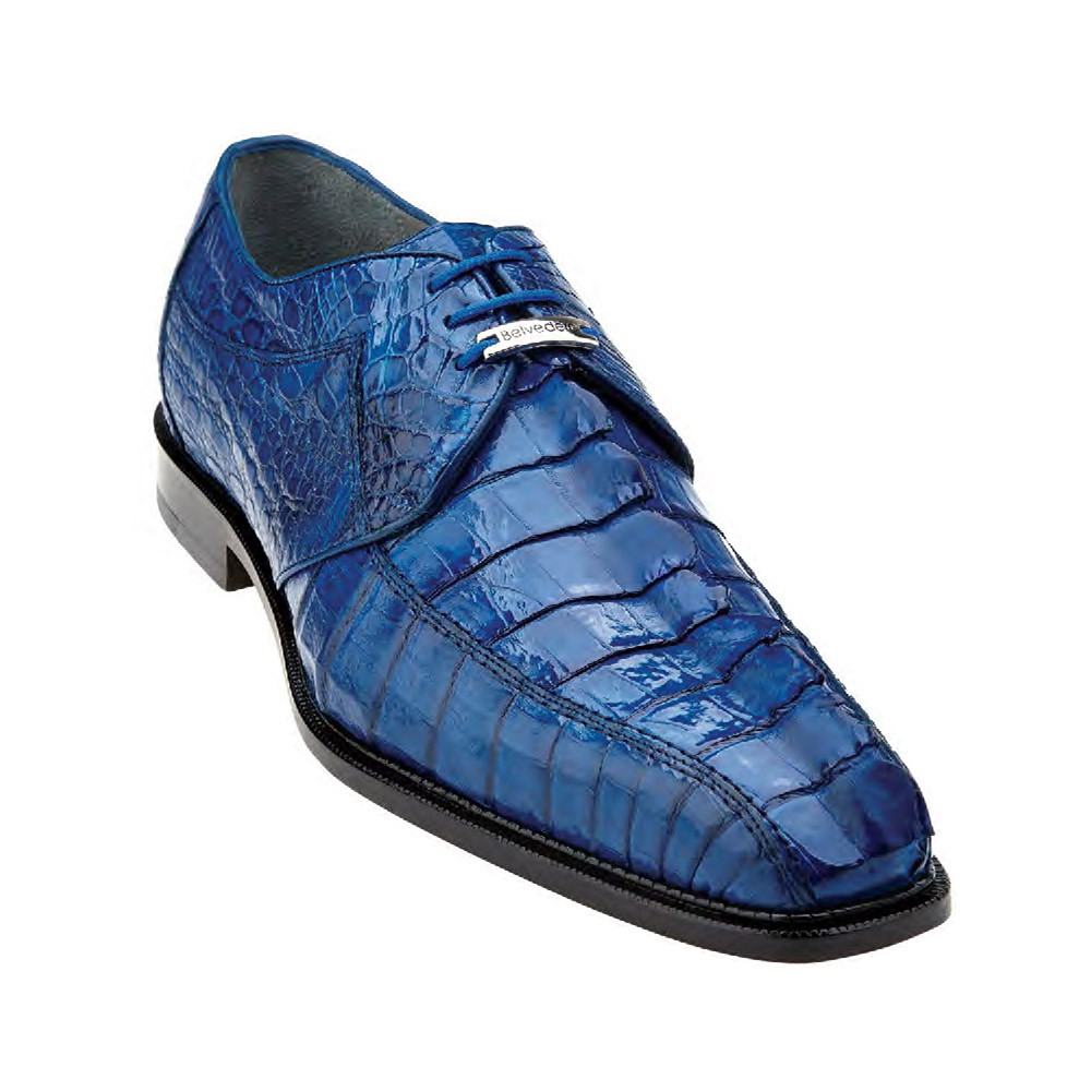 Belvedere Colombo Genuine Hornback-Blue