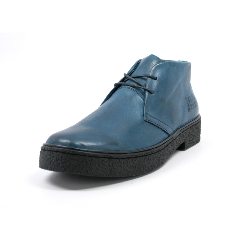 British Walkers Men S Playboy Chukka Boot Denim Blue