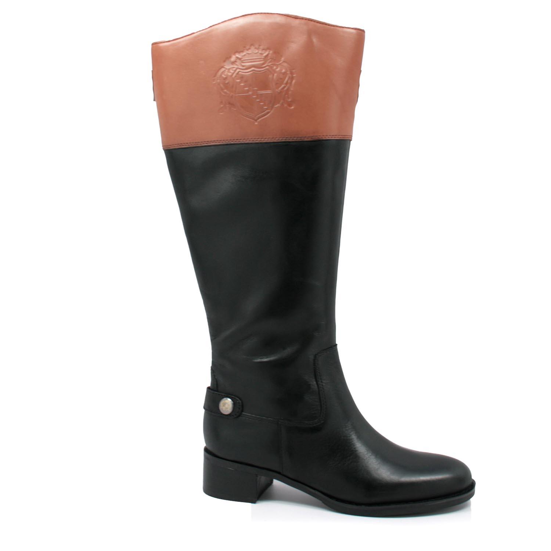 Franco Sarto Women S Chip Wide Calf Riding Boots Black