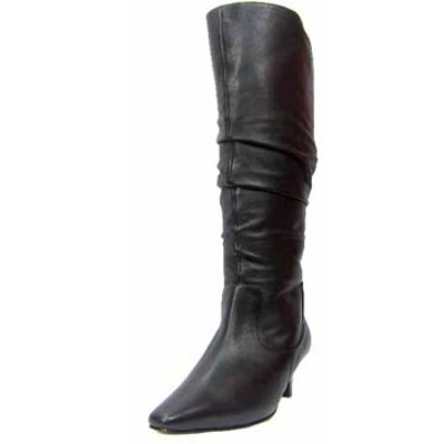 Ros Hommerson Trumpet Extra Wide Calf Boot Black Le Super Wide