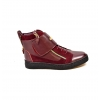 "British Collection ""Empire Brown Leather High Top w/Crepe Sole"